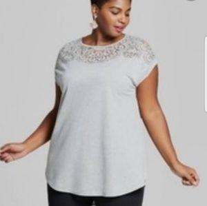 AVA &VIV Women's Plus Size Top